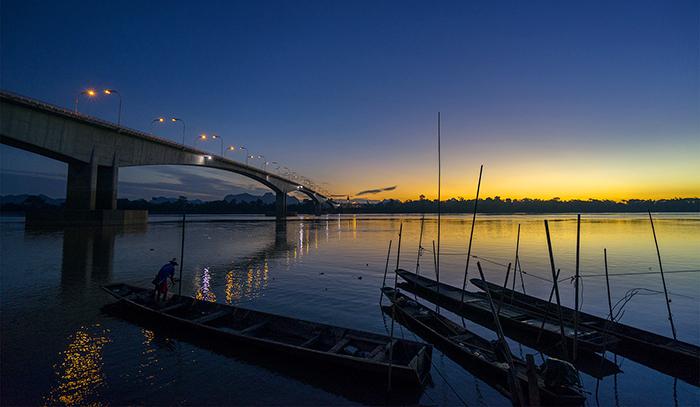 湄公河河畔