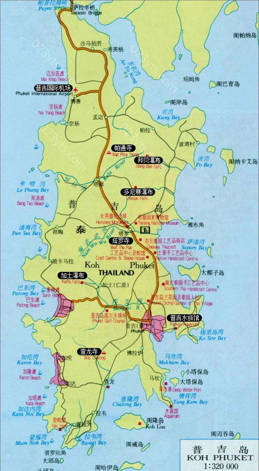 普吉岛亚博体育app下载地址地图