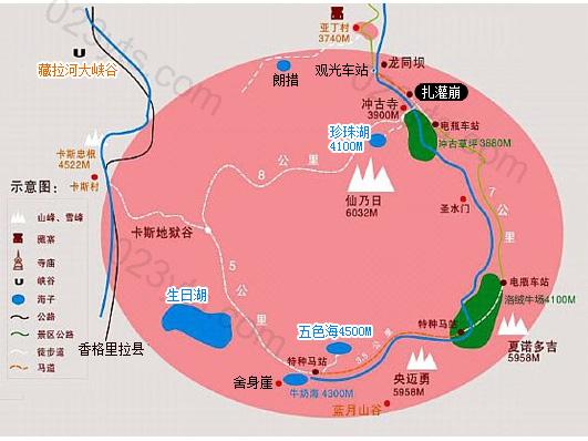 稻城亚丁亚博体育app下载地址地图